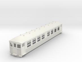 o-76-mersey-railway-1923-trailer-coach in White Natural Versatile Plastic
