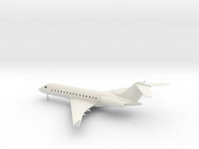 Bombardier Global Express XRS in White Natural Versatile Plastic: 1:100