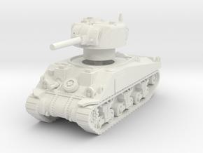 Sherman V tank 1/72 in White Natural Versatile Plastic