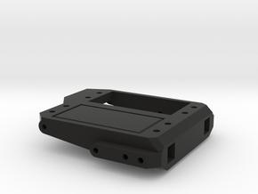 CR12 Servo Mount/Trackbar Mount in Black Natural Versatile Plastic