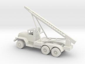 1/72 Scale Honest John Missile Launcher in White Natural Versatile Plastic