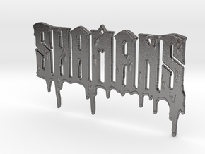 SHAMANS DRIP PENDANT in Polished Nickel Steel