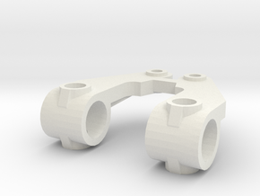 KYOSHO TRIUMPH KNUCKLE ARM  in White Natural Versatile Plastic