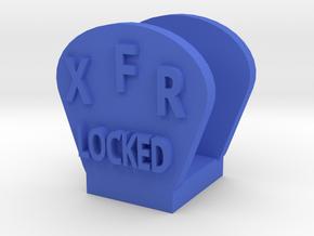 CRC1011 Diff Lock Switch Protector TRX-4 TQi Radio in Blue Processed Versatile Plastic