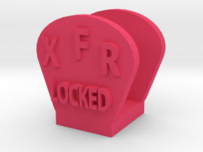 CRC1014 Diff Lock Switch Protector TRX-4 TQi Radio in Pink Processed Versatile Plastic