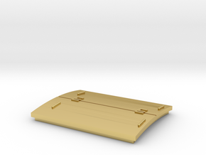 Southern Pacific Roof Hatch HIGH in Polished Brass