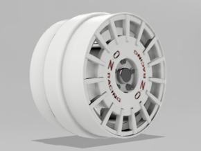1/64 Scale OZ Rally 8mm OD - Four sets in Smoothest Fine Detail Plastic