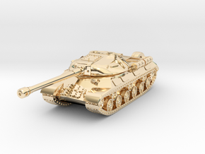 Tank - IS-3 - keychain in 14K Yellow Gold