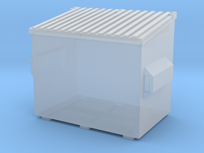 Dumpster 1/48 in Smooth Fine Detail Plastic