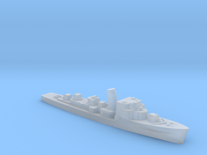 German M1943 Minesweeper 1:3000 WW2 in Smoothest Fine Detail Plastic
