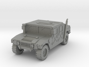 1/100 HMMWV car (low detail) in Gray PA12