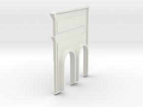 HOfunTP11P - Treport funicular in White Natural Versatile Plastic