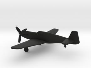 North American P-51A Mustang I in Black Natural Versatile Plastic: 1:160 - N