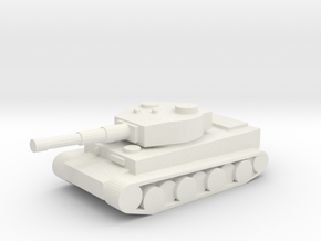 tiger tank in White Natural Versatile Plastic