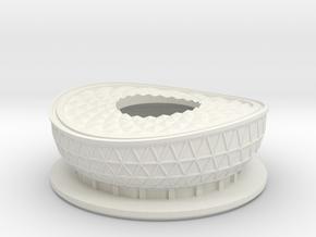 Lusail Stadium -  FIFA 2022 Qatar - 5CM  in White Natural Versatile Plastic
