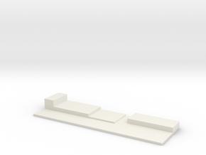 CNR Diner Wall in White Natural Versatile Plastic