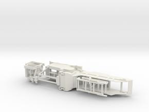 1/64th Rotochopper material grinder trailer in White Natural Versatile Plastic