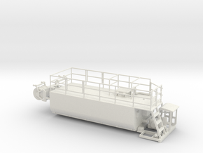 1/64th Hydroseeder truck body in White Natural Versatile Plastic