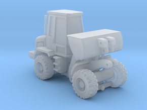 1-87 Scale Small Front Loader in Smooth Fine Detail Plastic