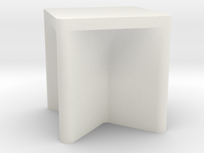 Printle Thing Chair 033 - 1/24 in White Natural Versatile Plastic