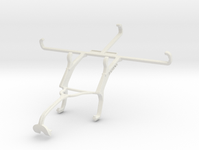 Controller mount for Xbox 360 & Sharp Aquos V in White Natural Versatile Plastic