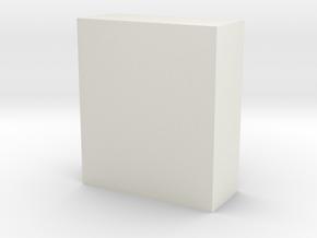 CNR Diner Refrigerator Block in White Natural Versatile Plastic