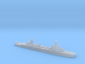 French Pluton minelaying cruiser WW2 1:4800 in Smooth Fine Detail Plastic