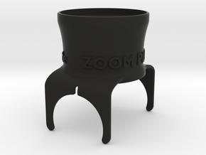 M2-Zoom-X4+ in Black Natural Versatile Plastic