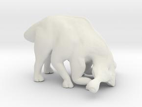 Hammerhead Behemoth Grazing in White Natural Versatile Plastic