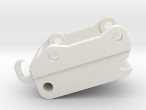 QC90 Schnellwechsler / quick coupler in White Natural Versatile Plastic: 1:50
