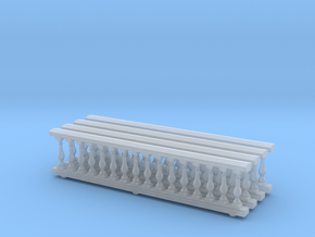 Baluster 01. 1:75 Scale  in Smooth Fine Detail Plastic