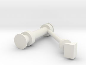 MLP_Supports_Diag_1-72--1 in White Natural Versatile Plastic