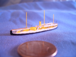 1/1250 Bloedhond Class Monitor in Smooth Fine Detail Plastic