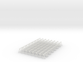 1:48 Non Stackable Sawhorses - 56ea in Frosted Ultra Detail