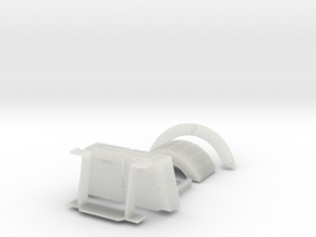 Coke Oven in Smooth Fine Detail Plastic