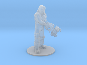 Dead Space Isaac Clarke miniature for games rpg in Smooth Fine Detail Plastic