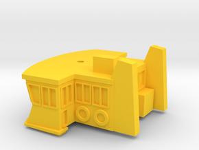 Sydney Ferry Wheelhouse in Yellow Processed Versatile Plastic