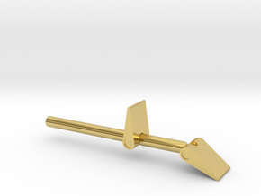 James Bond 007 - Man with the Golden Gun Trigger B in Polished Brass
