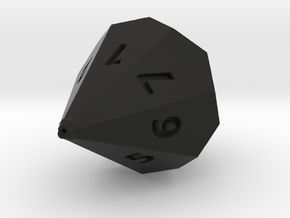 D7 dice in Black Strong & Flexible