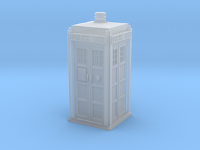 Dr.Who Tardis phone booth in Smoothest Fine Detail Plastic: 1:87 - HO
