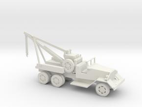 1/72 Scale Kenworth/La France M1 Wrecker in White Natural Versatile Plastic