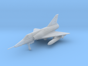 020U Mirage IIIR with Tanks 1/200 in Smooth Fine Detail Plastic