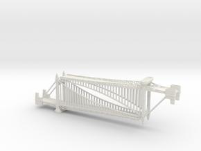 1/1200th scale Szabadsag hid (Liberty bridge) in White Natural Versatile Plastic