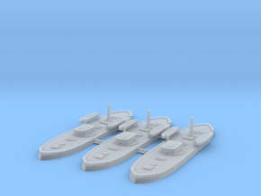 1/1250 Pará Class Monitor x3 (70pdr) in Smooth Fine Detail Plastic