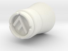 Star Wars Sabacc dealer token in White Natural Versatile Plastic