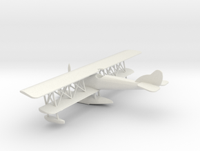 1/72 Scale Curtiss N 9 USA 1916 in White Natural Versatile Plastic