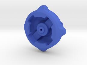 Lezyne GPS to Wahoo Elemnt Adaptor in Blue Processed Versatile Plastic