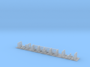 Interieur Plan-E 1e klas in Smooth Fine Detail Plastic