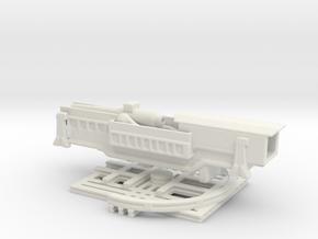 24 cm SK L/30 Theodor otto steal 1/144 eub  in White Natural Versatile Plastic