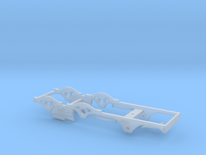 BROAD 2-4-0 Victoria - 4mm P4 Chassis in Smooth Fine Detail Plastic